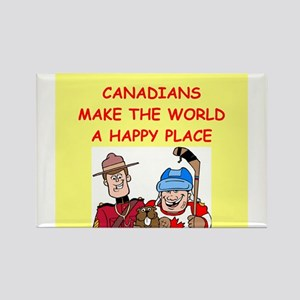 canadians Rectangle Magnet