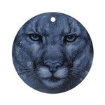 Ghost Ornament (Round)