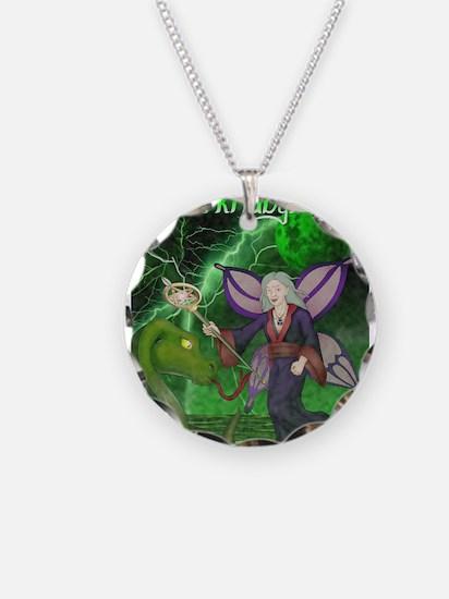 Unique Warrior fairy Necklace