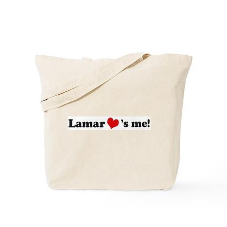 Lamar loves me Tote Bag