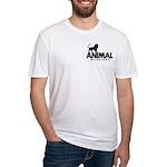 Men's Fitted T-Shirt (Black Pocket Logo)