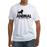 Men's Fitted T-Shirt (Black Logo)