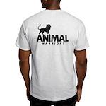 Men's Light T-Shirt (Black Logo on Back)