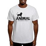 Men's Light T-Shirt (Black Logo)