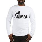 Men's Long Sleeve T-Shirt (Black Logo)