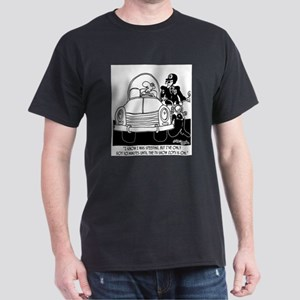 10 Minutes 'til Cops Dark T-Shirt