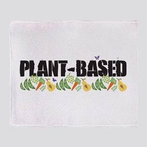Plant-based Throw Blanket