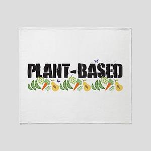 Plant-based Throw Blanket