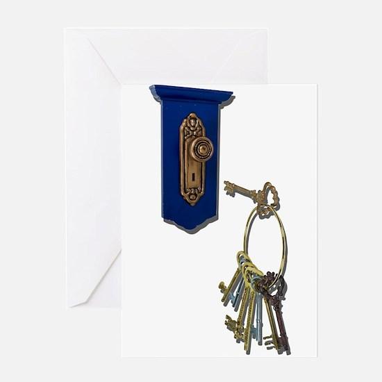 Unlocking the Door Greeting Card