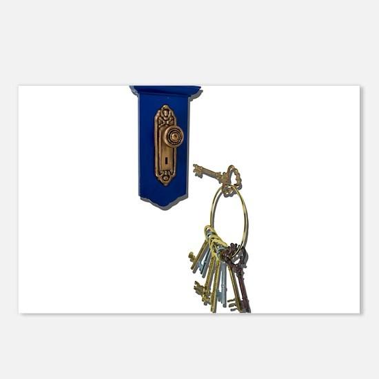 Unlocking the Door Postcards (Package of 8)