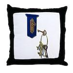 Unlocking the Door Throw Pillow