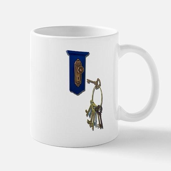 Unlocking the Door Mug