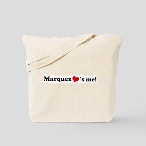 Marquez loves me Tote Bag