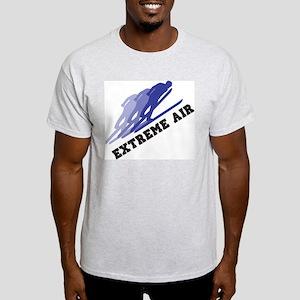 Extreme Air Skiing Ash Grey T-Shirt