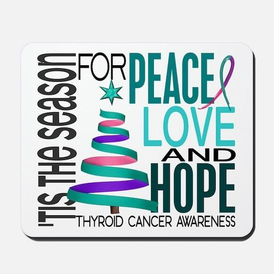 Christmas 1 Thyroid Cancer Mousepad