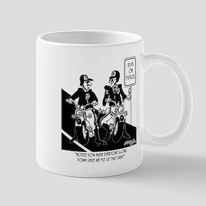 Elvis on Patrol Mug