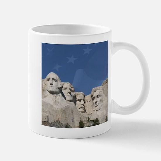 Patriotic Mt. Rushmore Mug