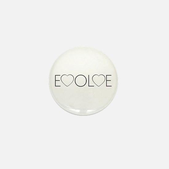 Evolve Love Mini Button
