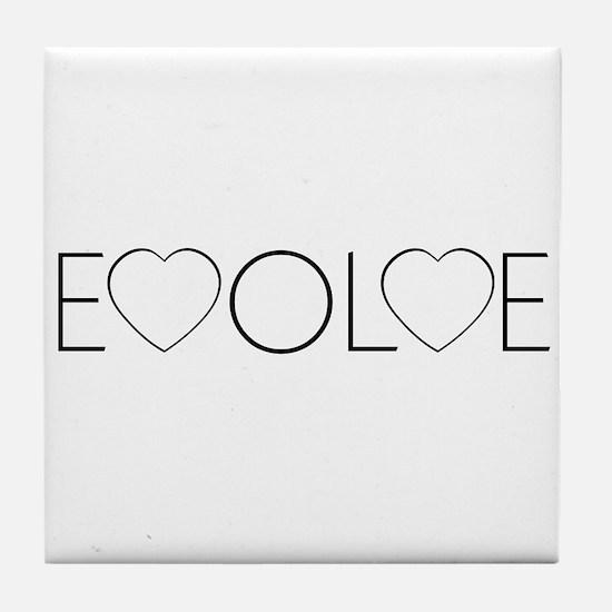 Evolve Love Tile Coaster