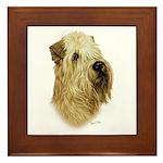 Wheaten Terrier Framed Tile