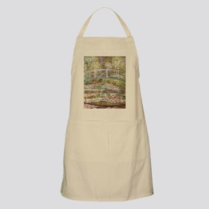 Monet's Japanese Bridge and Water Light Apron