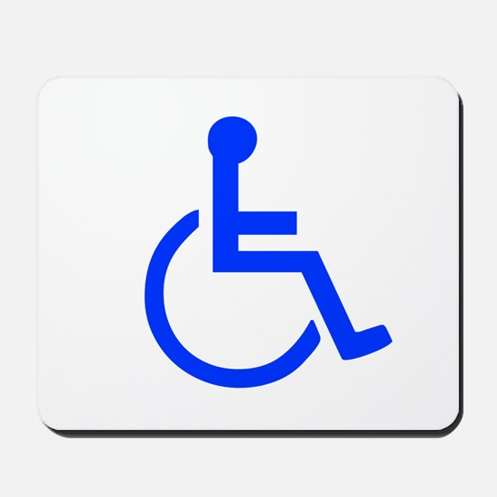 Handicapped Mousepad