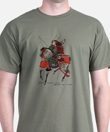 Horse-riding samurai T-Shirt