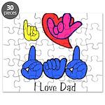 I-L-Y Dad Puzzle