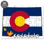 ILY Colorado Puzzle