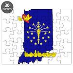 ILY Indiana Puzzle