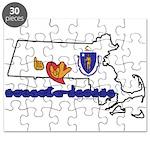 ILY Massachusetts Puzzle