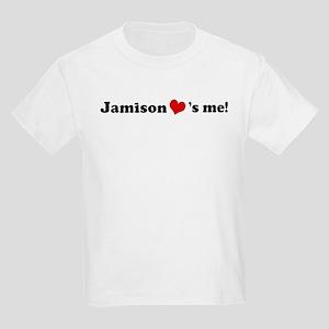 Jamison loves me Kids T-Shirt