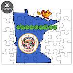 ILY Minnesota Puzzle