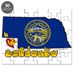 ILY Nebraska Puzzle