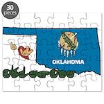 ILY Oklahoma Puzzle