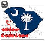 ILY South Carolina Puzzle