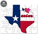ILY Texas Puzzle