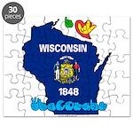 ILY Wisconsin Puzzle