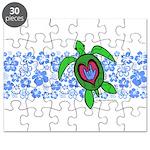 ILY Hawaii Turtle Puzzle