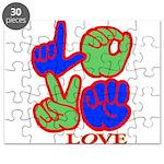 Square F.S. LOVE Puzzle