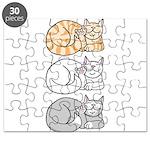 3 ASL Kitties Puzzle