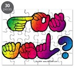 Got ASL? Rainbow SQ Puzzle
