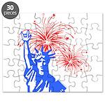 ILY Fireworks Liberty Puzzle