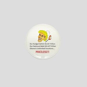 'Priceless' Anti Obama Mini Button