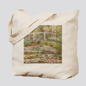 Monet's Japanese Bridge and Water Lil Tote Bag