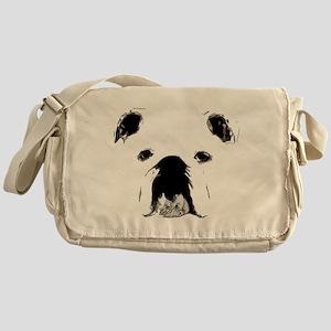 Bulldog Bacchanalia Messenger Bag