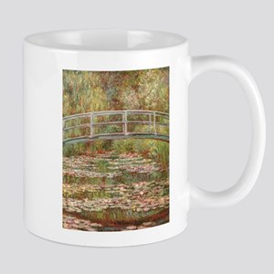 Monet's Japanese Bridge and Water Lily Po Mugs