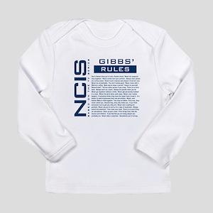 NCIS Gibbs' Rules Long Sleeve Infant T-Shirt