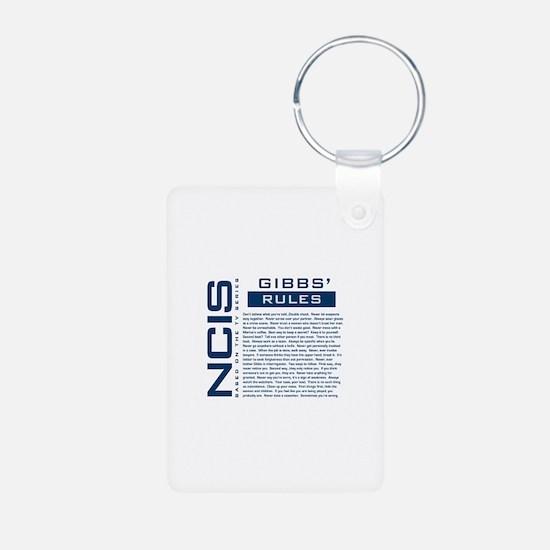 NCIS Gibbs' Rules Keychains