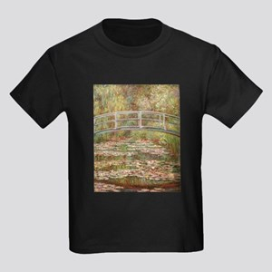 Monet's Japanese Bridge and Water Lily T-Shirt